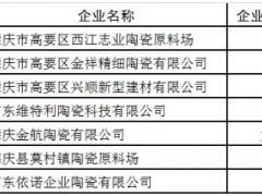 """肇庆7家陶瓷企业获《2018年""""四下""""转""""四上""""企业鼓励资金》"""